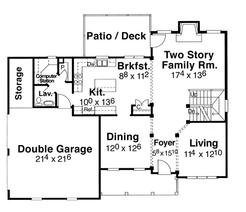 House Magnolia House Plan House Plan Resource