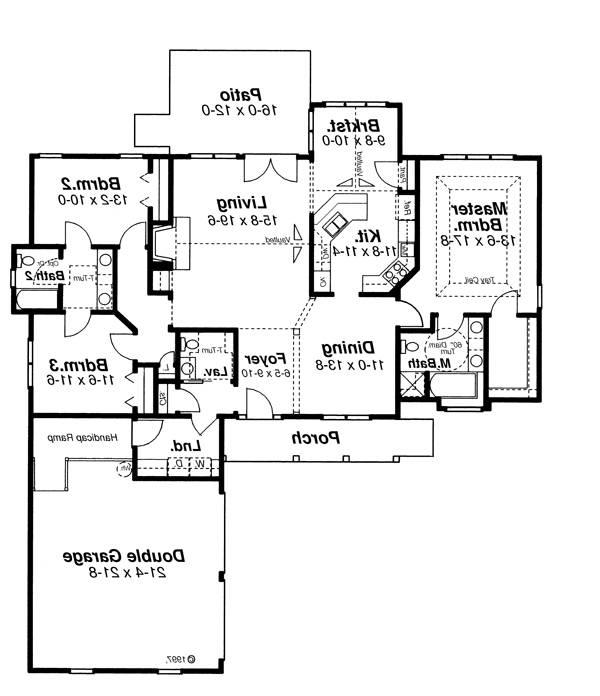House Sheffield House Plan House Plan Resource